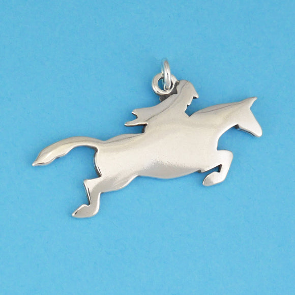 Jumping Horse Charm - Charmworks