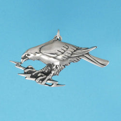 Eagle With Lightning Charm - Charmworks