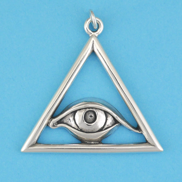 Triangle Eye Pendant