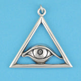 All Seeing Eye Pendant - Charmworks