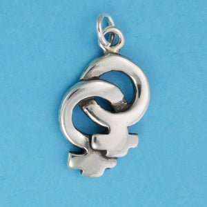 Linked Female Symbol Charm - Charmworks