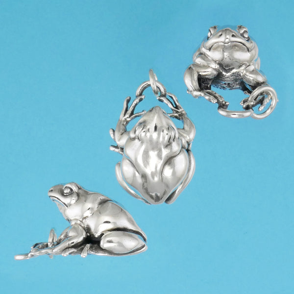 Great Plains Toad Pendant - Charmworks