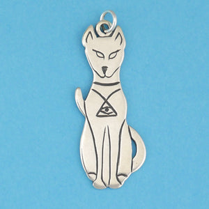 Egyptian Cat Pendant - Charmworks