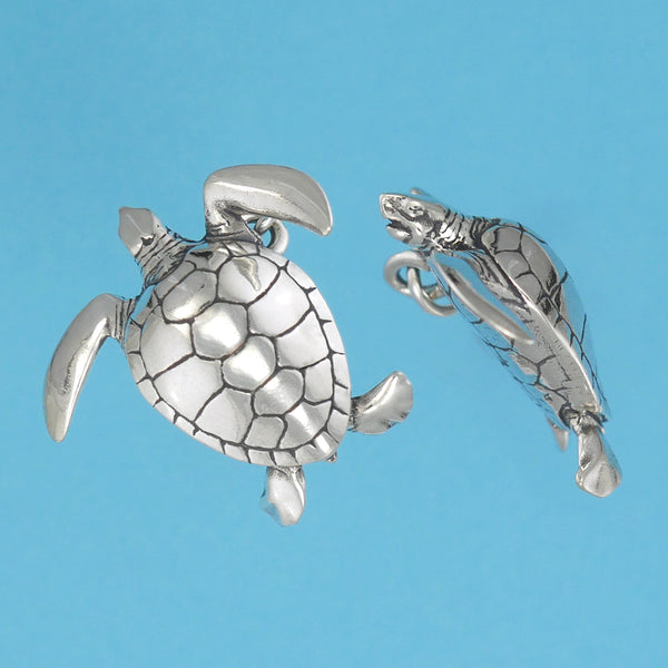 Green Sea Turtle Pendant - Charmworks