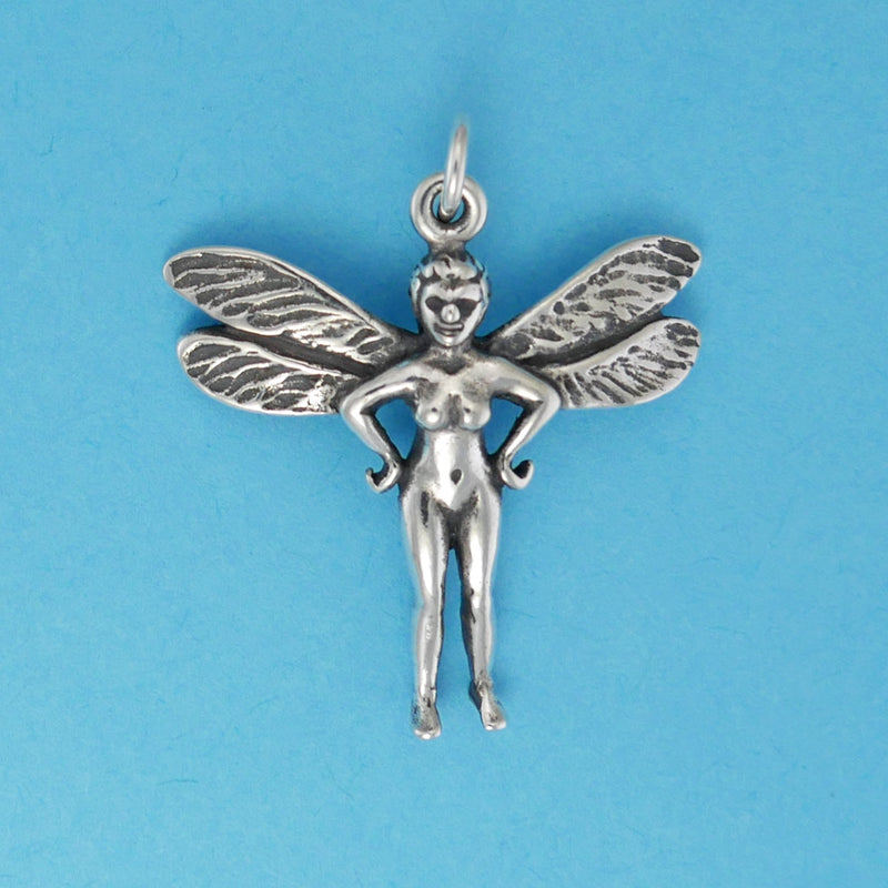 Sterling Silver Pixie Charm - Charmworks