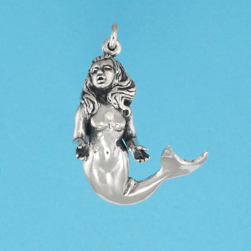 Mermaid Pendant - Charmworks
