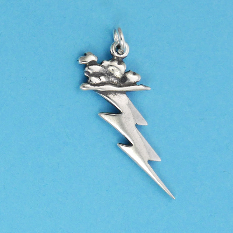 Sterling Silver Stormy Weather Charm - Charmworks