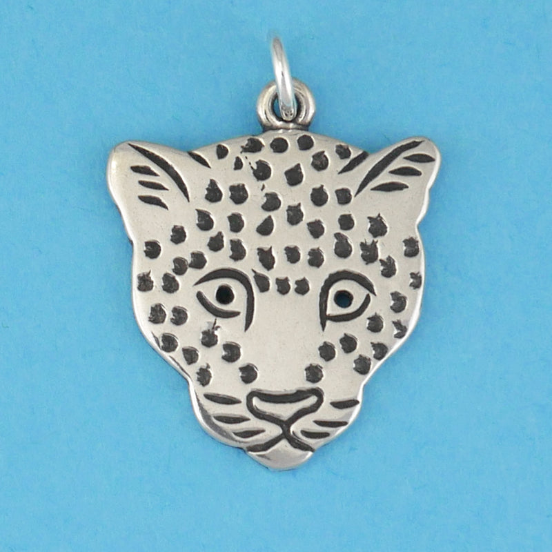 Leopard Face Charm - Charmworks