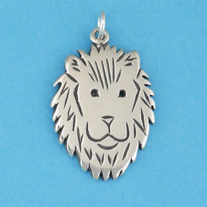 Lion Face Charm - Charmworks