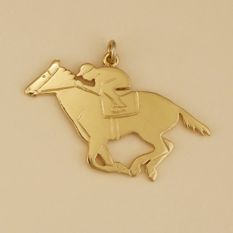 Race Horse Around The First Turn Charm - Charmworks