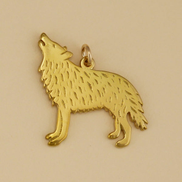 Howling Wolf Charm - Charmworks