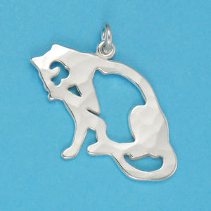 Grooming Cat Charm - Charmworks