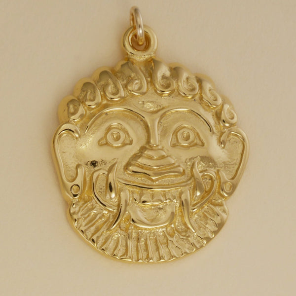Greek Gorgon Pendant - Charmworks