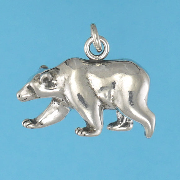 Grizzly Bear Pendant - Charmworks