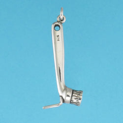 Hoof Pick And Brush Charm - Charmworks