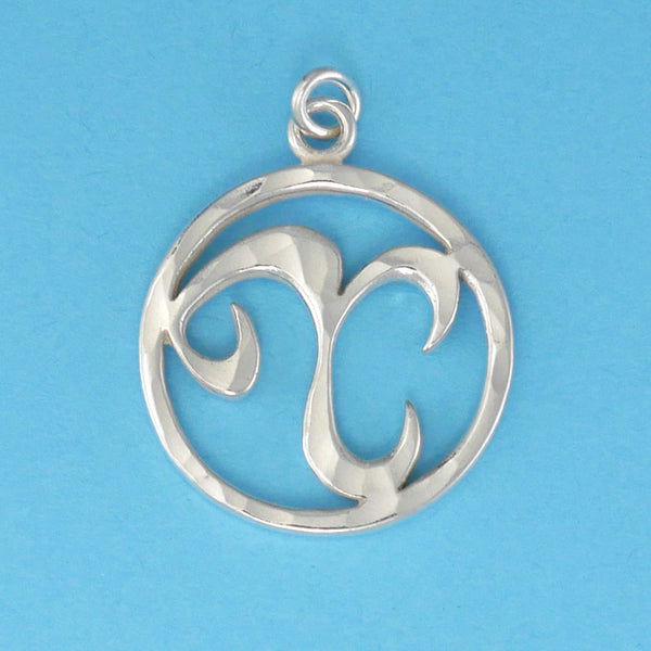Hand Hammered Zodiac Sign Pendants - Charmworks