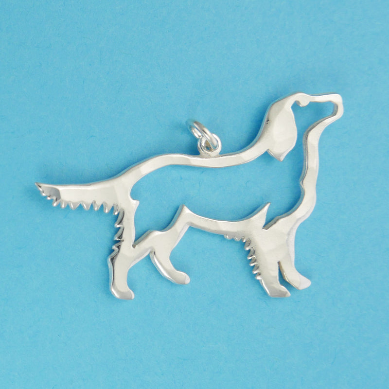 Golden Retriever Charm - Charmworks