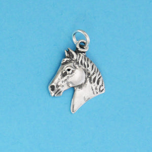 Greek Horse Head Charm - Charmworks