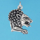 Lion Head Charm - Charmworks
