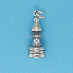 Bishop Chess Piece Charm - Charmworks