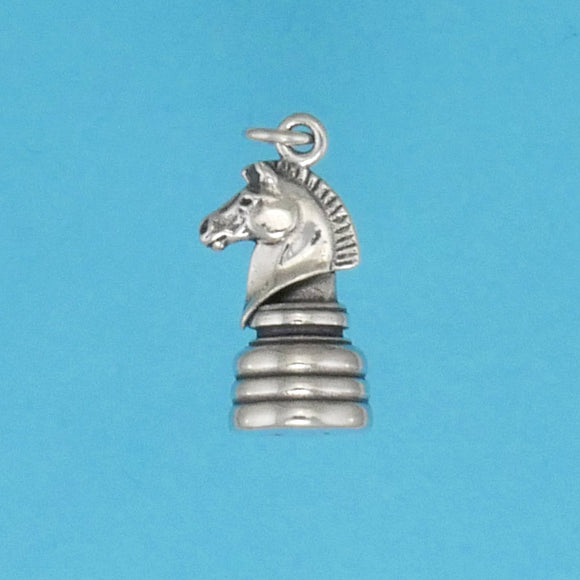 Knight Chess Piece Charm - Charmworks