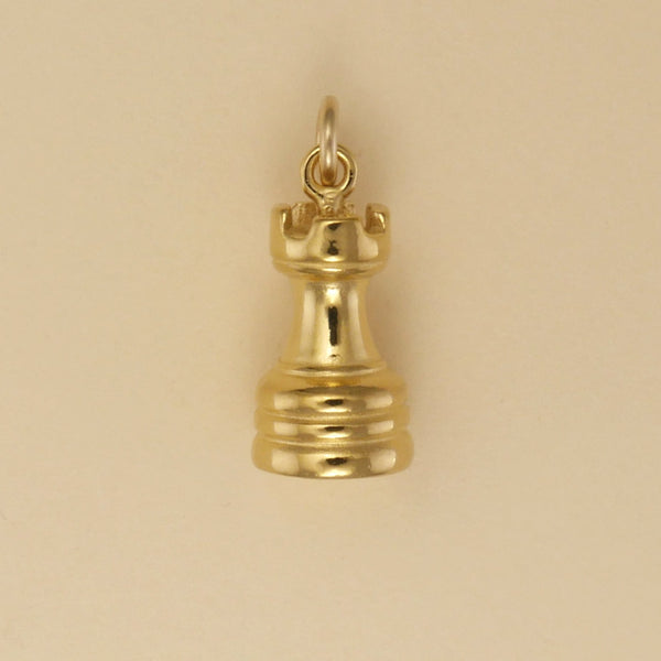 Rook Chess Piece Charm