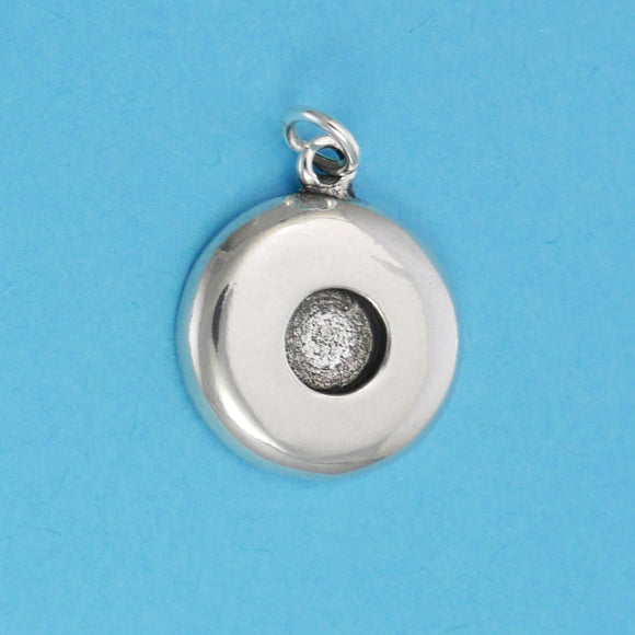 Sterling Silver Sun Symbol Charm - Charmworks