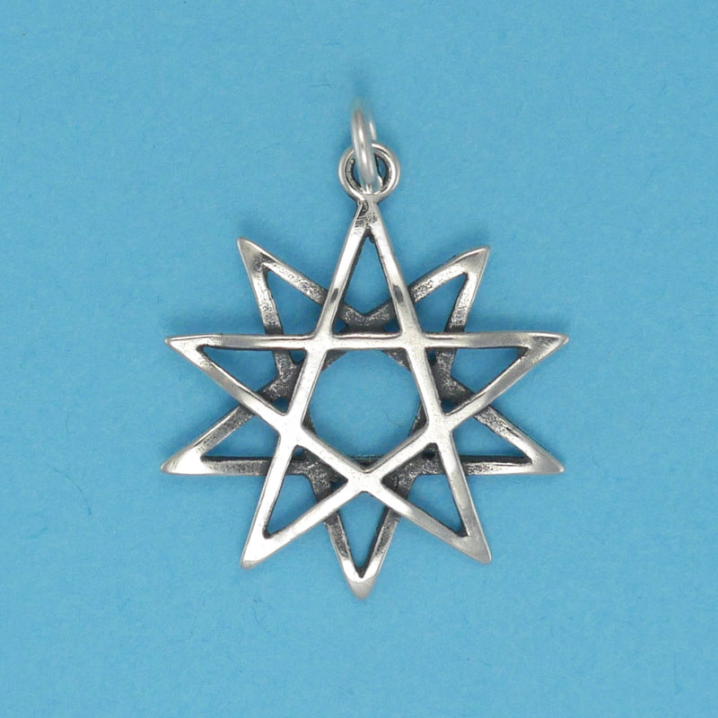 Ten Point Star Charm - Charmworks