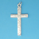 Hand Hammered Cross Pendant - Charmworks