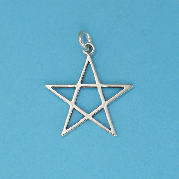 Star Simple 5 Point Charm