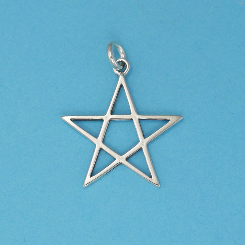 Star Simple 5 Point Charm - Charmworks