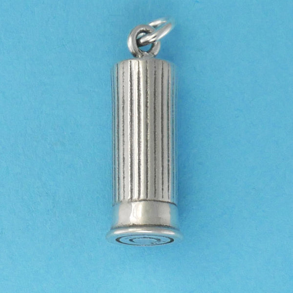 Sterling Silver Shot Shell Charm - Charmworks