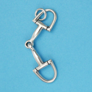 D Ring Snaffle Bit Charm - Charmworks
