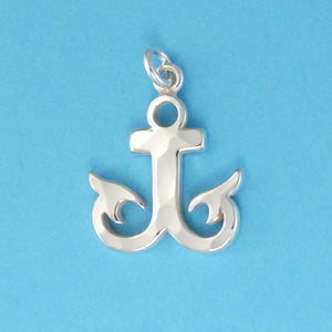 Hammer Faced Anchor Charm - Charmworks
