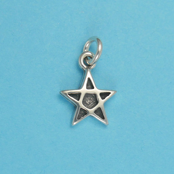 Sterling Silver Star Charm - Charmworks