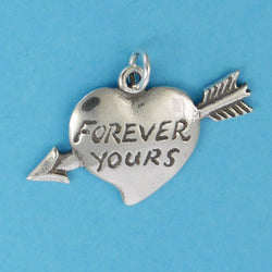 Forever Yours Heart Charm - Charmworks