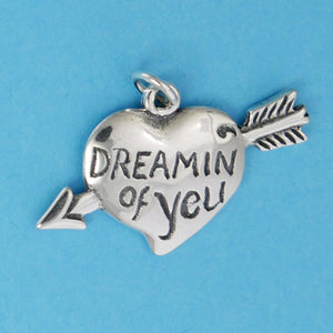 Heart Dreaming Of You Charm - Charmworks