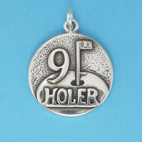 Sterling Silver 9 Holer Pendant - Charmworks