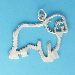 Old English Sheepdog Charm - Charmworks