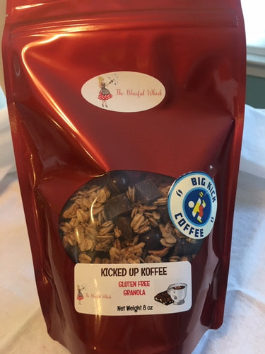 KICKED UP KOFFEE Gluten Free Granola