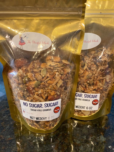 NO SUGAR, SUGAH!   Sugar and Grain Free Granola