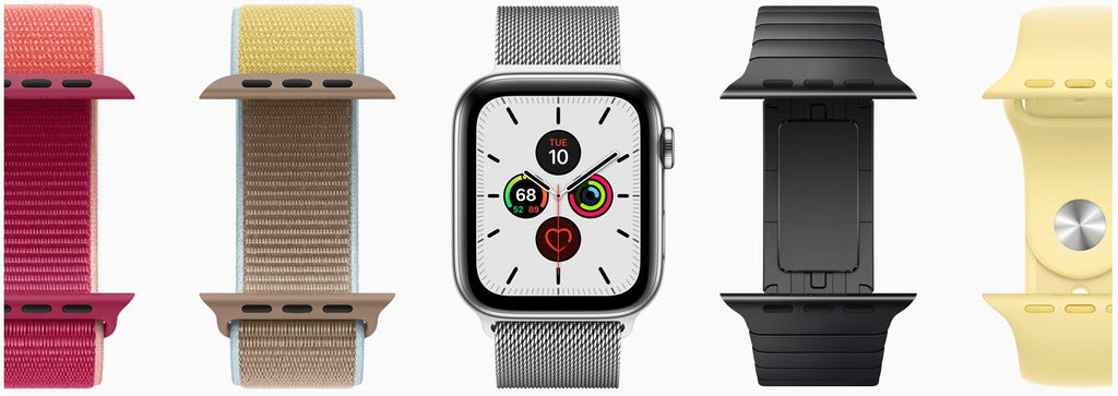 Apple watch with different bands