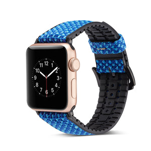 Veecircle Waterproof Silicone Band, Compatible With Apple Watch Series 5/4/3/2/1