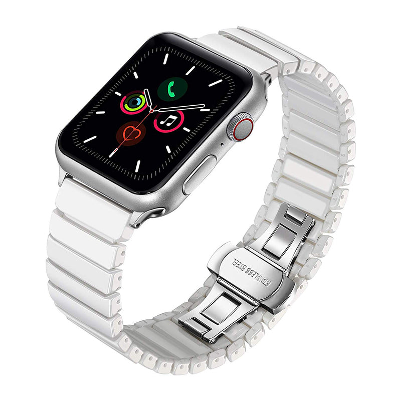 Veecircle Deluxe Ceramic Single Bead Strap for Apple Watch Series 1/2/3/4/5