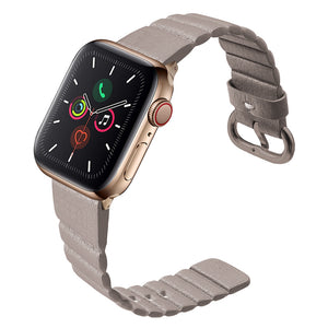Veecircle Genuine Leather Loop Apple Watch Band for Series 5 4 3 2 1