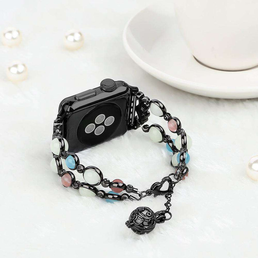 Compatible With Apple Watch Series 1/2/3/4, Glimmer - Veecircle