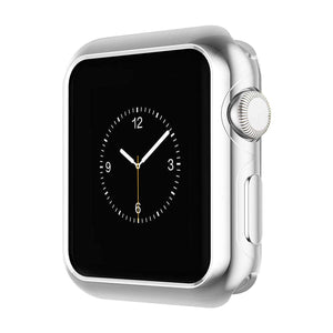 Compatible With Apple Watch Series 2/3/4, Soft Silicone Case - Veecircle