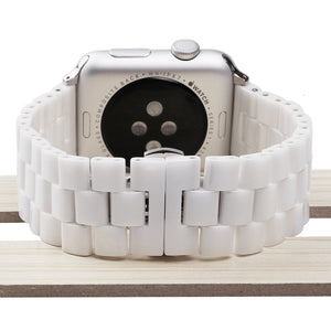 Veecircle Deluxe Ceramic Strap Three Beads for Apple Watch Series 1/2/3/4/5
