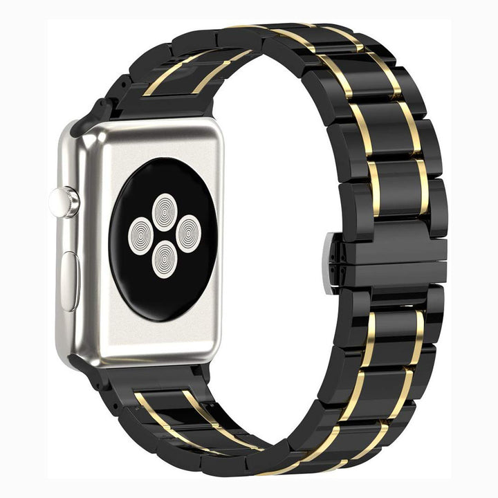 Veecircle Deluxe Five Beads Ceramic Strap for Apple Watch Series 1/2/3/4/5