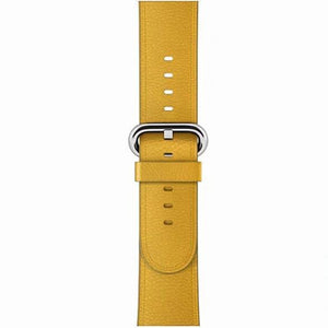 Veecircle Leather Watch Band  Classic Buckle, Compatible With Series 5/4/3/2/1